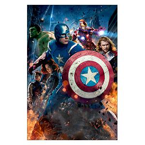 Avengers. Размер: 20 х 30 см